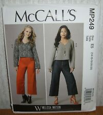 Womens/Misses Top & Pants Sewing Pattern/McCall's MP238/M7483/SZ 6-14/UCN