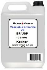 10 litres vg vegetable glycerine glycérol glycérine usp bp E422 vapotage 10l 2 x...