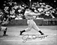 Joe Dimaggio Autographed Repro  Photo 8X10 - 1941 Yankees  Buy Any 2 Get 1 FREE