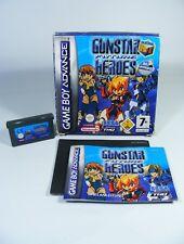 GUNSTAR FUTURE HEROES für Nintendo GBA GameBoy Advance komplett OVP Spiel