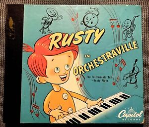 RUSTY in ORCHESTRAVILLE - Nifty 1946 Capitol 3-record Set BC-35