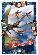 55 - Schnappende Falle - Drachen Karte - Dragons 3 - Die geheime Welt