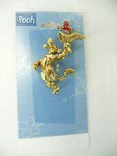 Disney  Pooh Tigger  Gold Tone Brooch Butterfly  USA Seller