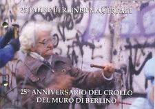 Vaticano NUMISBRIEF 25 anni muro di Berlino caso