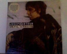 """Joseph Arthur devil's broom ltd. white vinyl 7"""""""