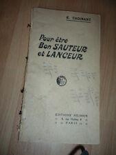 NILSSON POUR ETRE UN BON SAUTEUR ET LANCEUR DE POIDS  1920  ATHLETISME