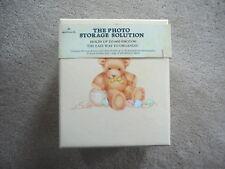 Hallmark Cards Vintage 1984 Baby Photos Storage Box - Teddy Bears - Nos