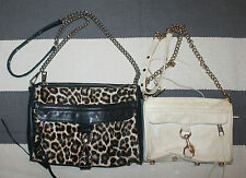 Lot of 2 Rebecca Minkoff M.A.C. Leather Shoulder Bags