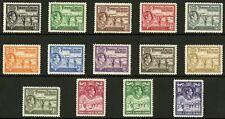 Turks & Caicos Islands  1938-45  Scott # 78-89  Mint Lightly Hinged Set