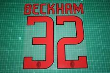AC Milan 08/09 #32 BECKHAM Awaykit Nameset Printing