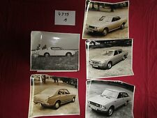 N°4719 A /  TOYOTA Celica ,Crown, Corolla, Carina  photos d'epoque 1972