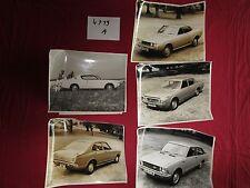 N°4719 A /  TOYOTA Celica ,Crown, Corolla, Carina  photos d'epoque 1972