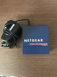 NETGEAR ProSafe 5 Port Gigabit Switch Model GS105