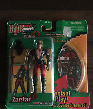 Gi Joe Vs Cobra Zartan Classified 25th 50th Roc Poc Fss Sdcc Retro