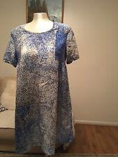 Vestido de Seda Kenzo Para Mujer, Talla Fr40/UK 12, RRP £ 350.00