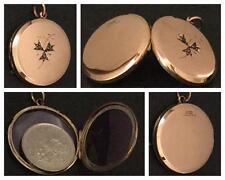 Rose Gold Pendant/Locket Edwardian Fine Jewellery