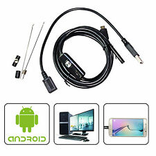 16.5Ft 7Mm Snake Micro Usb Endoscope Borescope Camera f Android Otg Phone Pc Us