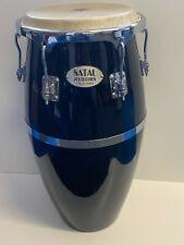 Natal Percussion Classic Conga Fiberglas 12 Zoll gebraucht schwarz