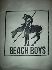 Beach Boys - Vintage T-Shirt Iron-on from early 1970s - Indian on Horse Design