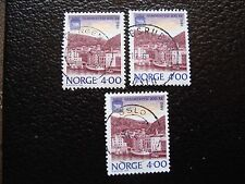NORVEGE - timbre yvert et tellier n° 973 x3 obl (A04) stamp norway