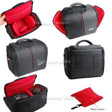 Cámara SLR Impermeable D caso bolsa de hombro para Canon EOS 1300D 6D 750D 760D 77D