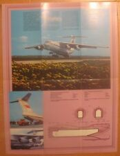 Russian Aeroflot Advertising Booklet Air Plane Craft Ways Line IL 76 ИЛ Aviation