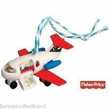 Hallmark 2010 Play Family Fun Jet Fisher Price Ornament