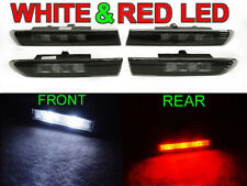 4 Pieces Front White / Rear Red LED Smoke Side Marker Light For 2004-08 Acura TL