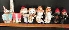 8 VINTAGE SETS OF MISC. SALT AND PEPER SHAKERS (ANGLES,HUMPTY DUMPTY) 5485C