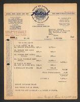 """TOULOUSE (31) Succursale PEINTURE """"ASTRAL CELLULO / LEVY FINGER"""" en 1949"""