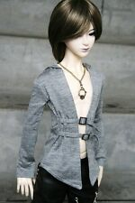 [wamami] 06# Gray Coat T-Shirt 1/4 MSD DZ AOD DOD BJD LUTS Doll Dollfie