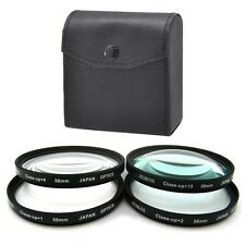 58mm Macro Close-Up +1 +2 +4 +10 Filter Kit for Olympus 14-42 40-150 70-300