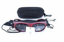 Überbrille - Sonnenbrille Polarisierend Rot Flexbügel