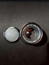 Canon ae-1 Lens FD 50mm 1:1.8