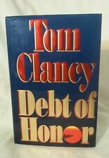 Debt Of Honor by Tom Clancy FIRST EDITION
