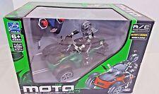R/C Trike Remote Control ATV Lights Up & Rocks Radio Full Function Moto Racer