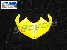2006-2007 Yamaha R6 OEM YELLOW Gas / Fuel Tank Top Cover Fairing Cowling 06-07
