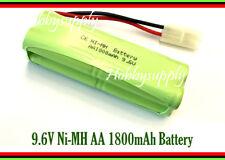 Ni-MH 9.6V AA 1800mAh 4*2 Battery Pack w/. Tamiya plug for NQD 757-6024 RC Boat