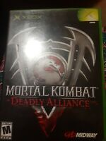 Mortal Kombat: Deadly Alliance - Original Xbox Game - Tested