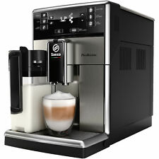 SAECO SM5473 / 10 PicoBaristo coffee espresso super automatic machine steel blk