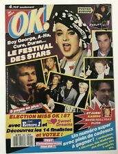 ►OK AGE TENDRE 595 / 1987 - BOY GEORGE - EUROPE - NICK KAMEN - A-HA - CURE