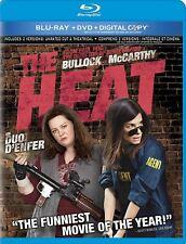 The Heat BLU RAY Movie-+ DVD + Digital Copy- brand New- HMV-168/HMV-28