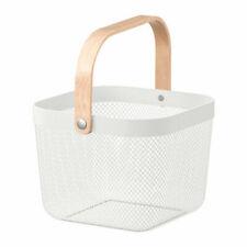 IKEA RISATORP basket white 25 x 26 x 18 cm