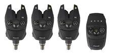 Prologic SNZ Bite Alarm Indicator Kit 3+1 Carp Fishing 100% Waterproof 100dB