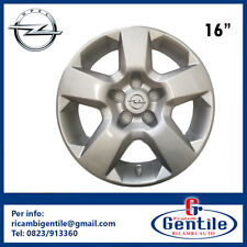 """HUBCAP FOR OPEL VECTRA WITH CIRCLE FROM 16"""" GRIGIO METALLIZED"""