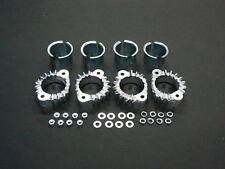 Kawasaki Z900 6mm NEW Exhaust Collars & Collet Set Kz900 Z1 Z1a Z1b Mounting kit
