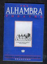 1983 Programme: Musical Annie: The Alhambra Theatre, Bradford