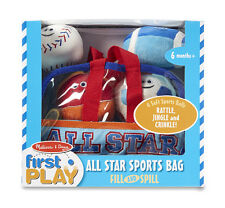 Melissa & Doug Sports Bag Fill & Spill #3053 BRAND NEW