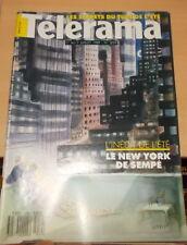 CINEMA TELEVISION TELERAMA N°2059 1989 INEDIT LE NEW YORK DE SEMPE