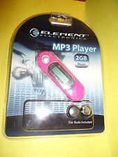 Element Electronics MP3 Player. New in unopened package!